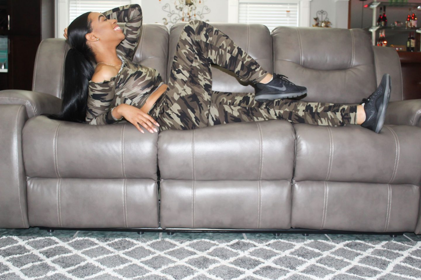 Keeping it Comfy in Camo
