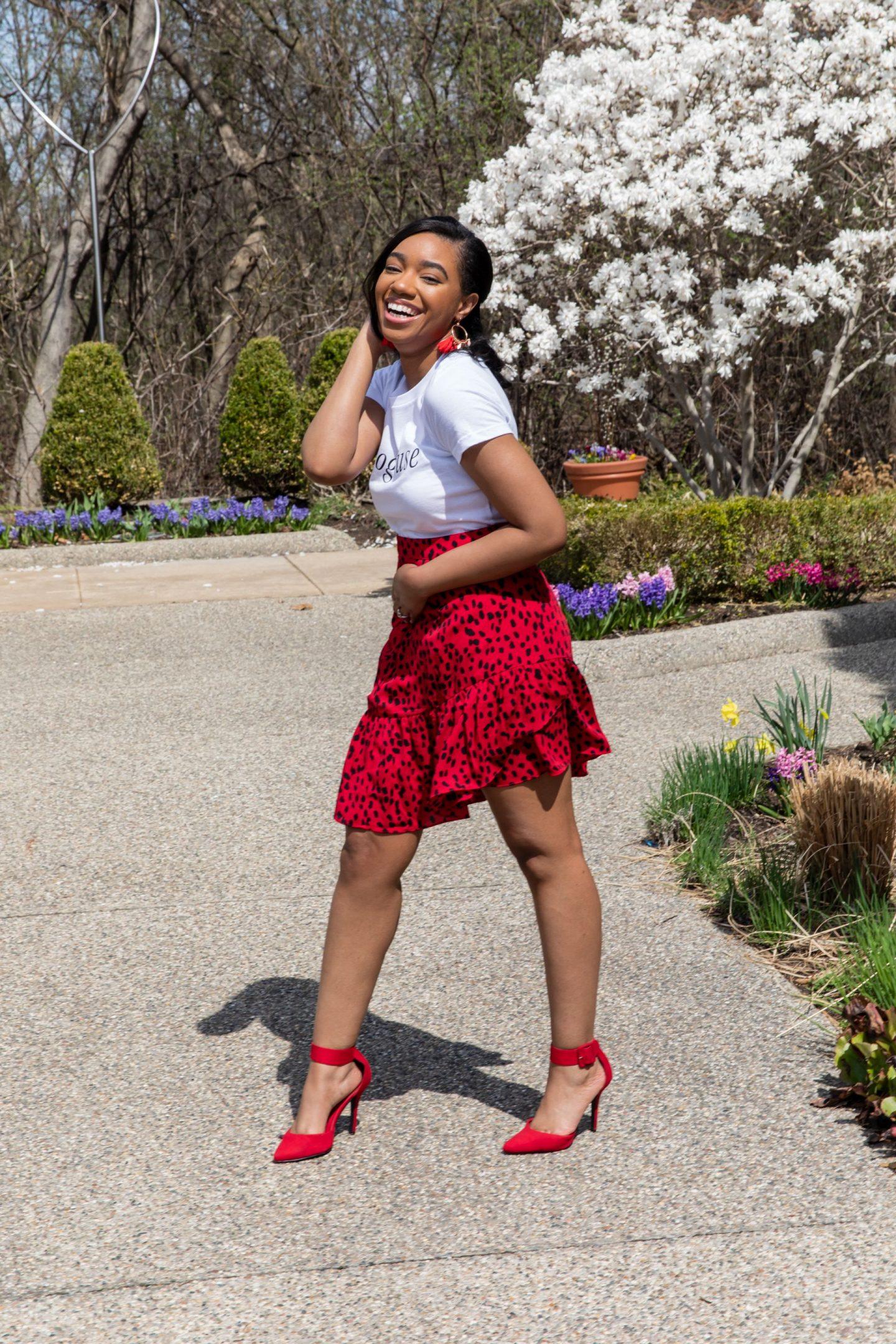 Ruffled Skirts for Summer