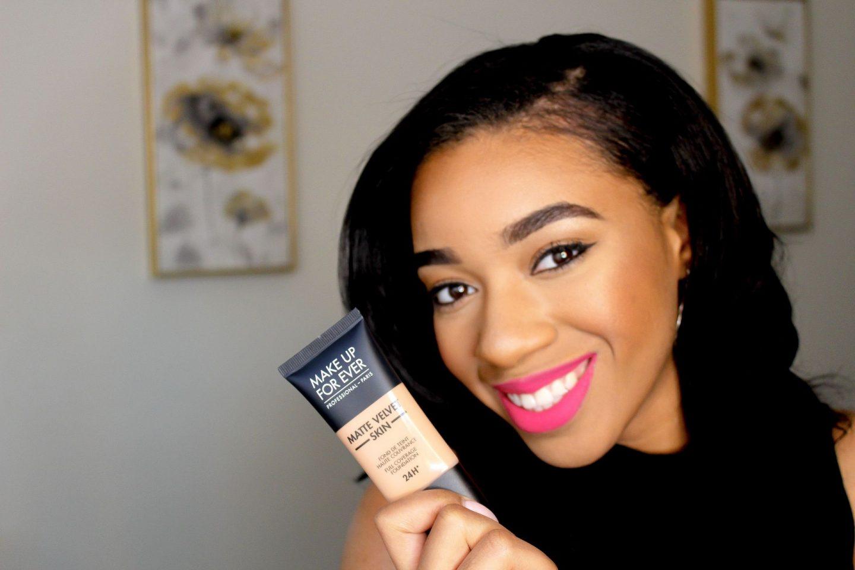 Makeup Forever Matte Velvet Skin Foundation Review